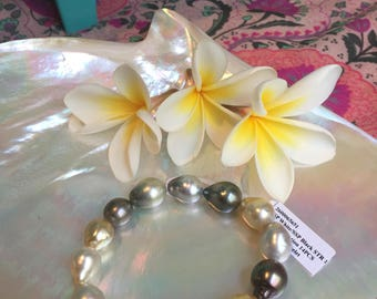 Tahitian and South Sea Bracelet #5651