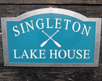 Lake House Sign, Lake House Decor, Custom Lake House Sign, Lake House, Lake House Sign Custom, Lake House Housewarming Gift, Outdoor Sign
