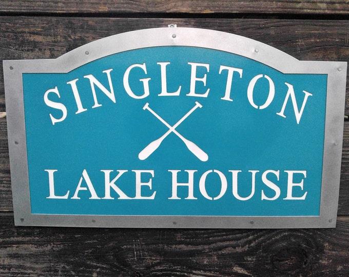 Lake House Sign, Lake House Decor, Custom Lake House Sign, Lake House, Lake House Sign Custom, Lake House Housewarming Gift, Outdoor Sign