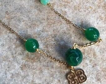 Fresh Green Handmade Necklace