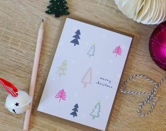 Winter Wonderland - Christmas Tree Card