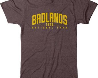 Badlands National Park Men's Tri-blend T-Shirt