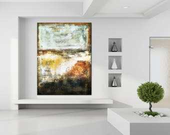 Oversize Art, Oil Painting On Canvas, Art Canvas Oil, Painting Abstract,  Large Part 86