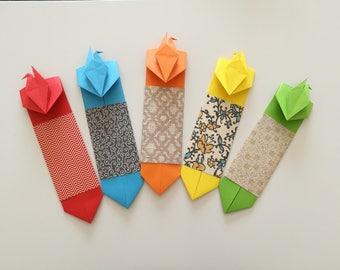 Paper Crane Bookmarker