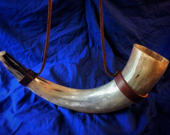 Viking Blowing Horn