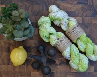 Apple Orchard - Sock Weight Hand Dyed Yarn