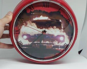 Stephen King's Christine 1950's style wall clock