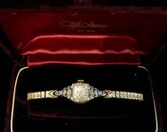 Vintage Ladies Bulova Wrist Watch VTP-9
