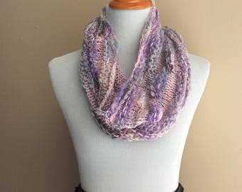 Pink/Purple Bloom Cowl