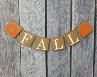 Fall banner, fall decor, thanksgiving banner, autumn banner, fall sign, fall decorations