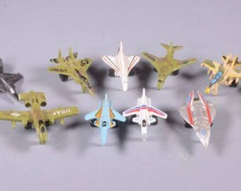 13 Miniature Jet Aircraft-Galoob and Funrise-From the 80's