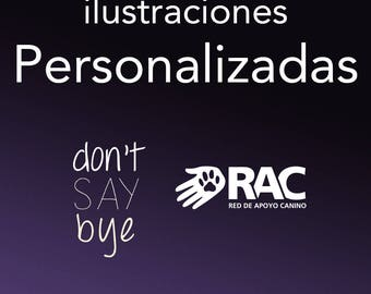 Ilustraciones personalizadas a beneficio de RAC