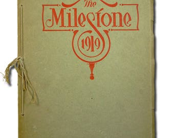 Norfolk High School Yearbook (Annual) 1919 - The Milestone - Madison County - NE Nebraska