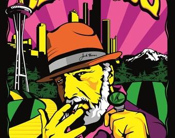 2010, Jack Herer Poster by Seattle HEMPFEST®