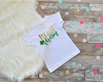 Kids St Patricks Day shirt Kids St. Pattys Shirt Toddler St Pattys Shirt Kids St Patricks Day shirt Don't Pinch Me Mommys Lucky Charm