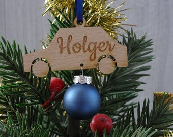 personalized christmas pendant / tree hanging - christmas tree decorations / car / christmas present