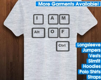 I am Alt of Ctrl! PC Gamer Gifts | PC Humor | Funny PC Gifts | Funny Tee | Funny TShirts | Funny Shirts | Funny Programmer Gifts | Code Gift