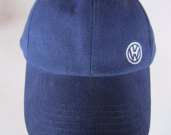 Vintage Volkswagen Logo Soft Mold Baseball Dad Hat Cap Snapback Adjustable