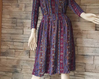 2 piece rayon dress,skirt and matching top boho fashion,hippie outfit