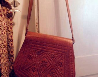 leather hippy bag 70