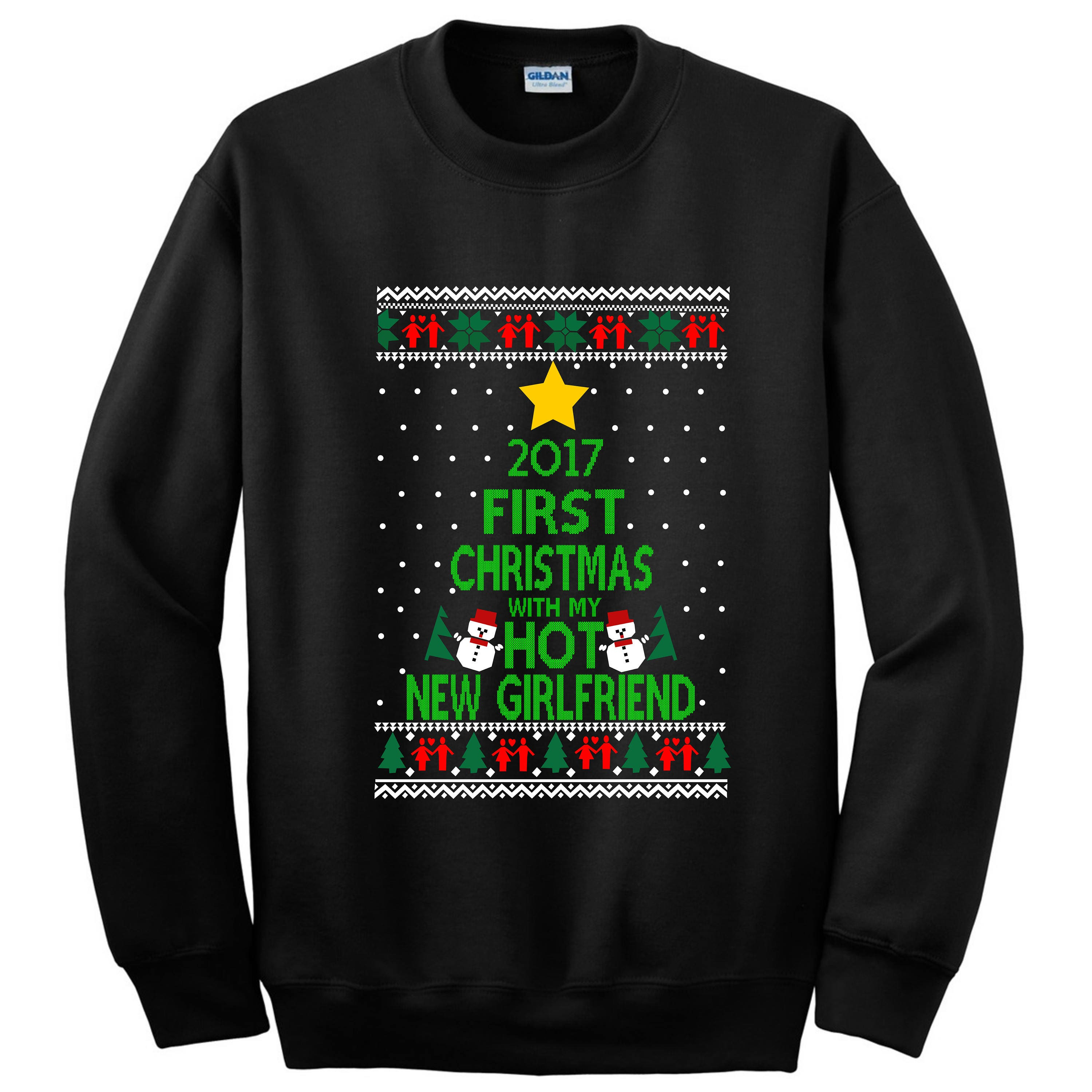 Ugly sweater ugly christmas sweater snowman Girlfriend