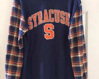 Syracuse Flannel T-shirt