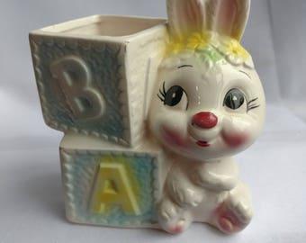 Vintage Glass bunny