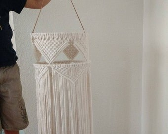 Macrame Wall Hanging/Wall Art - Lanterns