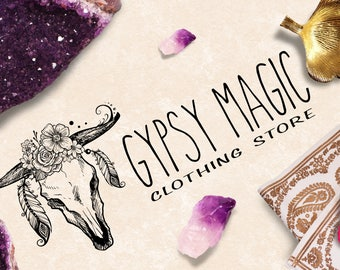 Custom Logo - The Boho Beauties Designs - The Gypsy Magic