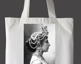 "Mata Hari ""Nevertheless, She Persisted"" Tote Bag"