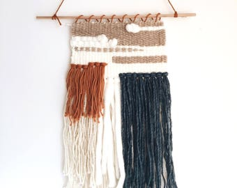 """Layered Woven Wall Hanging 12"""" x 17"""""""