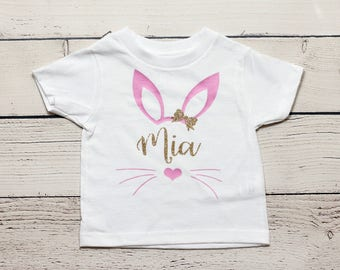 Easter bunny onesie | Personalized Easter shirt, Easter outfit, Easter, My first Easter, First Easter, Bunny, toddler shirt, onesie, onesies