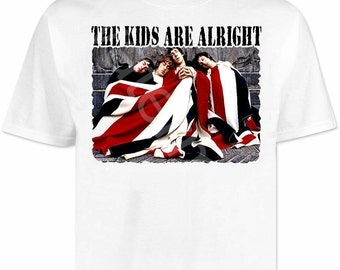 The Who T Shirt shirts . mod scooter scene . northern soul vespa lambretta brighton
