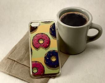 Donuts, Iphone case, Iphone 6, Iphone 6+, Iphone 7, Iphone 7+