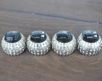 Vintage IBM Typewriter Balls, Selectric I and II Typewriter Balls, Accessories, Vintage Office Supplies, Business Office Collectibles