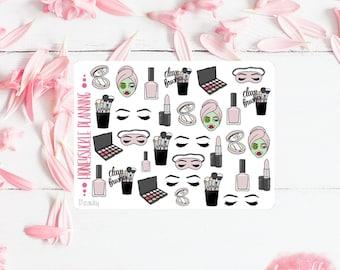 Beauty Planner Stickers