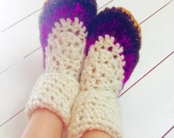 Womens slippers, Crochet slippers, Ladies slippers, Wool slippers, High cuff slippers, Crochet slippers, Slipper boot, Mukluk slippers