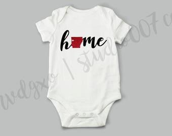 Arkansas Baby Onesie