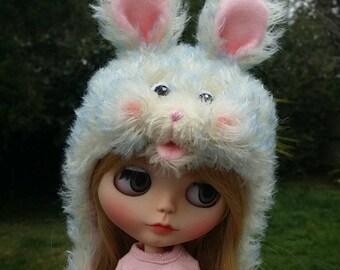 Blythe bunny hat