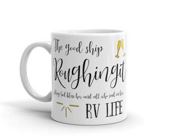 Roughing It I Love RV Mug. Perfect camping homeware RV accessories