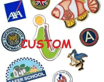 50 Pcs Wholesale CUSTOM Soft Enamel Pins Quality Metal Lapel Pins Custom Pin | Enamel Pin...FREE Shipping