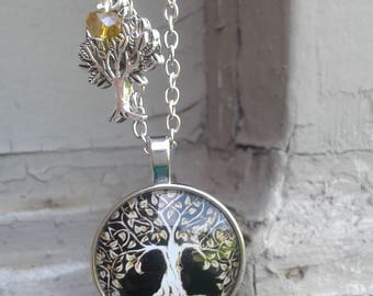 Tree of Life Cabochon Spiritual Necklace