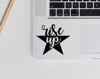 rise up decal, Hamilton Musical sticker, laptop decal, car stickers