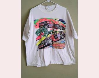 Jeff Greene Arkansas Nascar Racing Shirt L