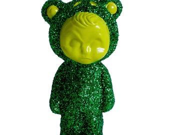Green Frog LightBud Jr Sculpture