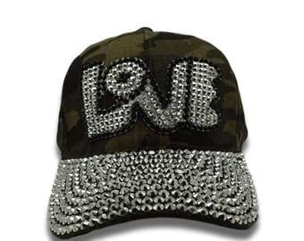 LOVE Bling Cap