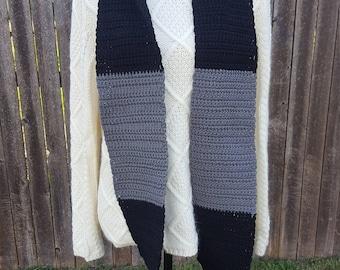 Woman's Crochet Scarf