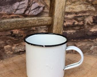 Small Enamel Cup