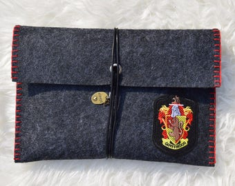 Book Sleeve Harry Potter Hogwarts House GRYFFINDOR
