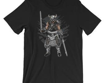 Dark Ages Viking Warrior Short-Sleeve Unisex T-Shirt